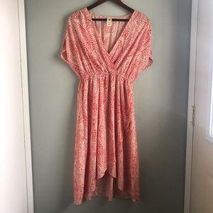 Needle & Thread // Orange Paisley Summer Dress